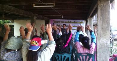 โครงการ กศน.รวมใจ ต้านภัยยาเสพติด  วันที่ 27 มกราคม 2558
