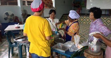 กศน.ตำบลป่าซางจัดกิจกรรมการศึกษาต่อเนื่องกลุ่มสนใจการทำขนมไทยระหว่างวันที่ …