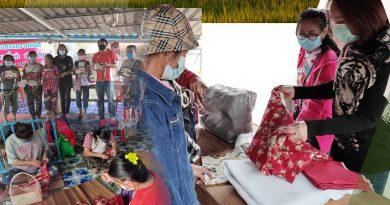 วิชาชีพระยะสั้น วิชาการทำกระเป๋าหิ้วผ้าด้นมือ หลักสูตร 10 ชั่วโมง